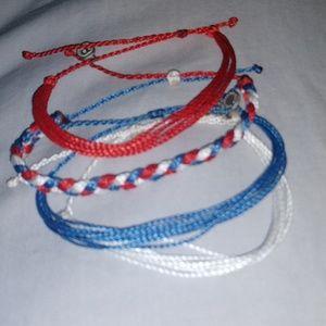 Adjustable bracelets - Pura Vida